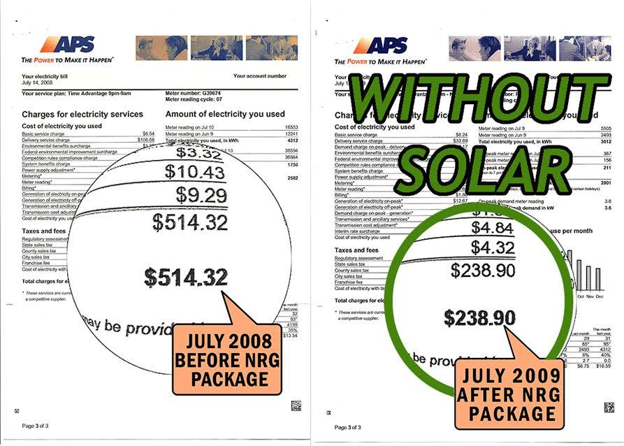 Savings Without Going Solar In Phoenix Arizona
