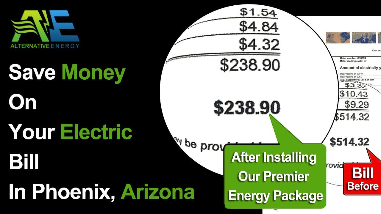 How To Lower Electric Bill In Arizona For Aps Amp Srp