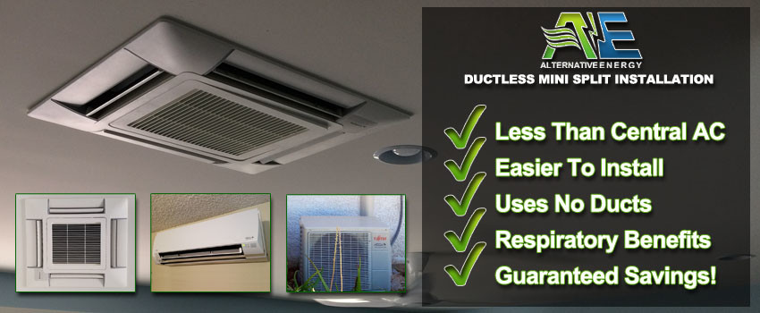 Mini Split Ac Installation Ductless Air Conditioning