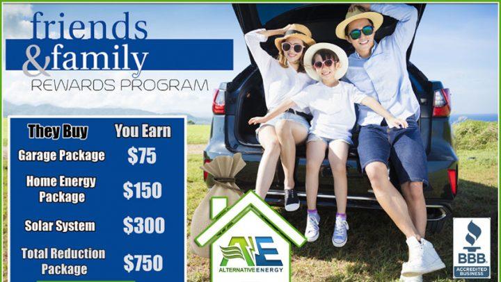 Friends & Family Referral Program
