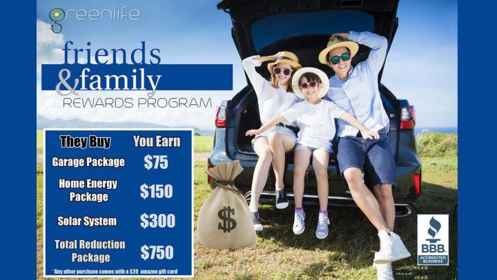Friends Family & Rewards Program