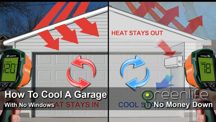 How To Cool A Garage With No Windows