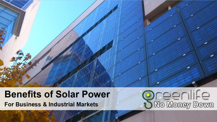 Benefits Of Solar Power For Business