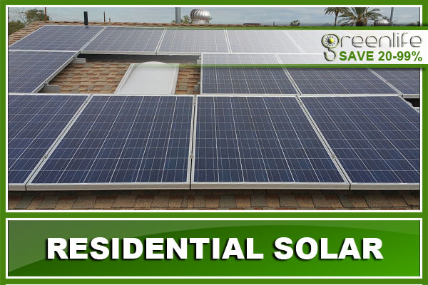Residential Solar Panels Mesa Arizona