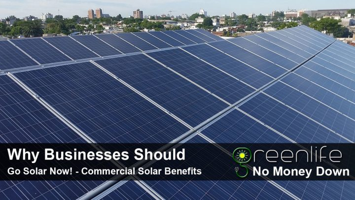 Why Businesses Go Solar - Solar Energy For Business