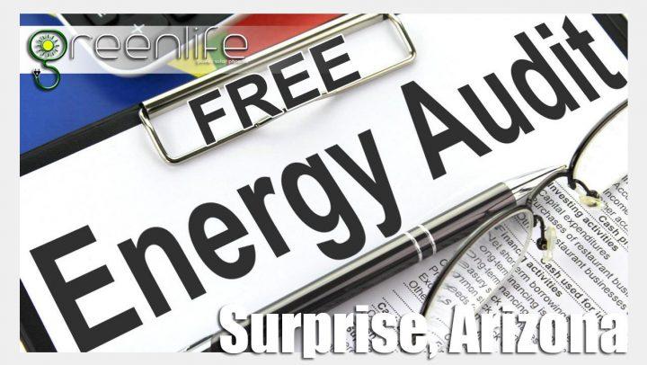 Home Energy Audit Surprise Arizona