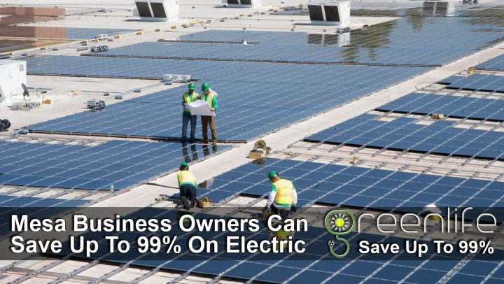 Commercial Solar Panels Mesa - Contractors - Installation
