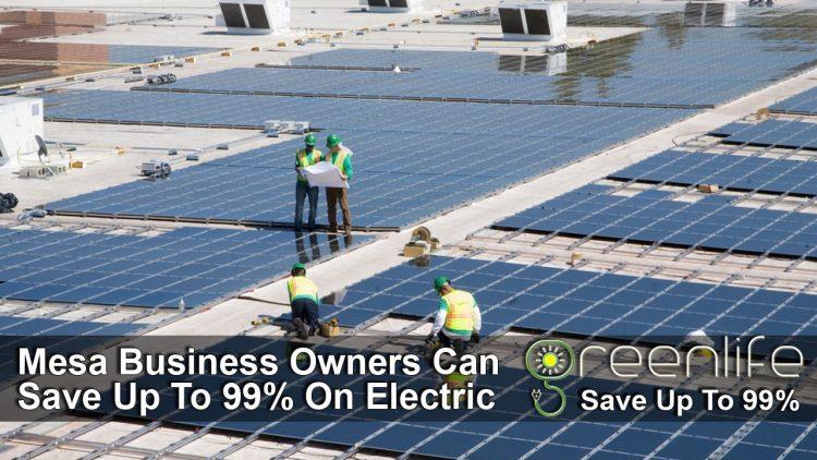 Commercial Solar Panels Mesa - Contractors - Installation