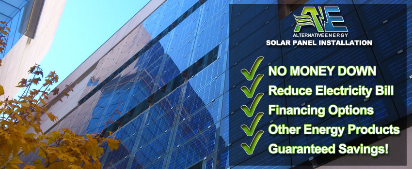 Commercial Solar Panel Installation Phoenix - Alternative Energy, LLC LLC