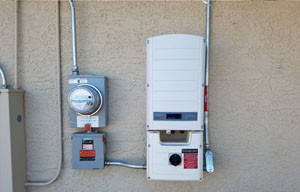 Picture-Of-Solar-Inverter-Installed-IN-Phoenix-Residential-Home