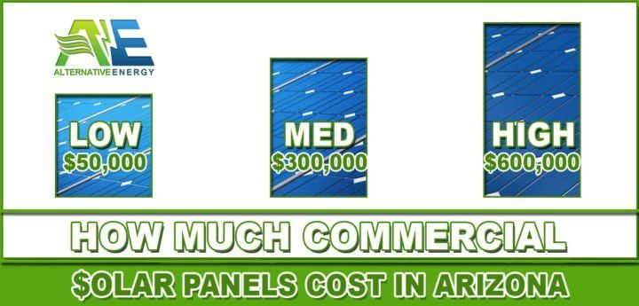 How Much Do Commercial Solar Panels Cost In Arizona