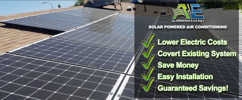 Solar Powered Air Conditioning For Home