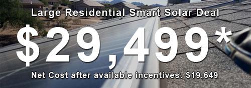 Large Residential Solar Deal Phoenix