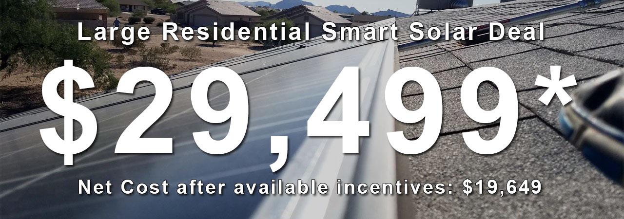 Large Residential Solar Deal Phoenix AZ