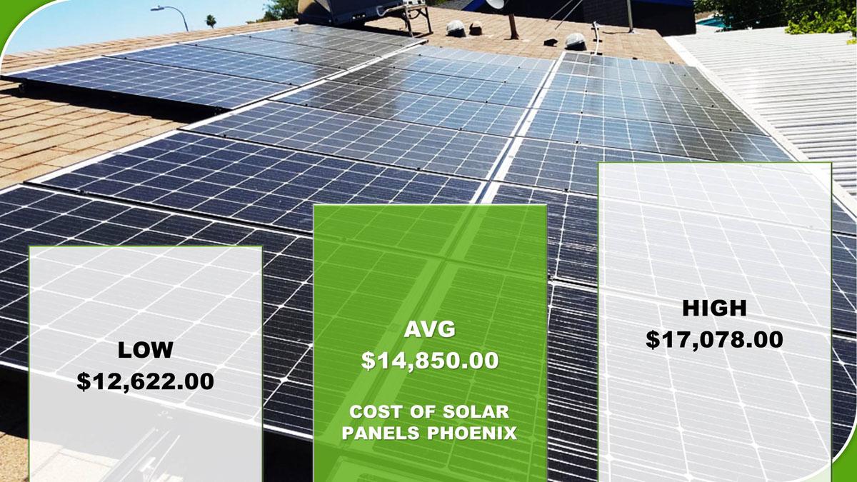 Solar Panels Cost Phoenix 2019 Cost Vs Savings Calculator