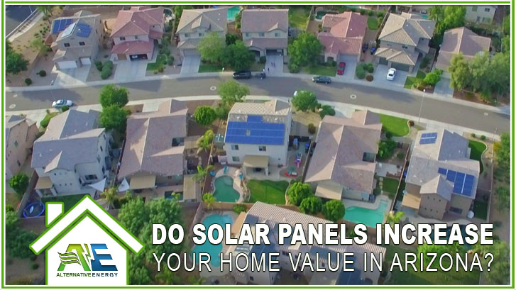 Do solar panels increase home value in Arizona