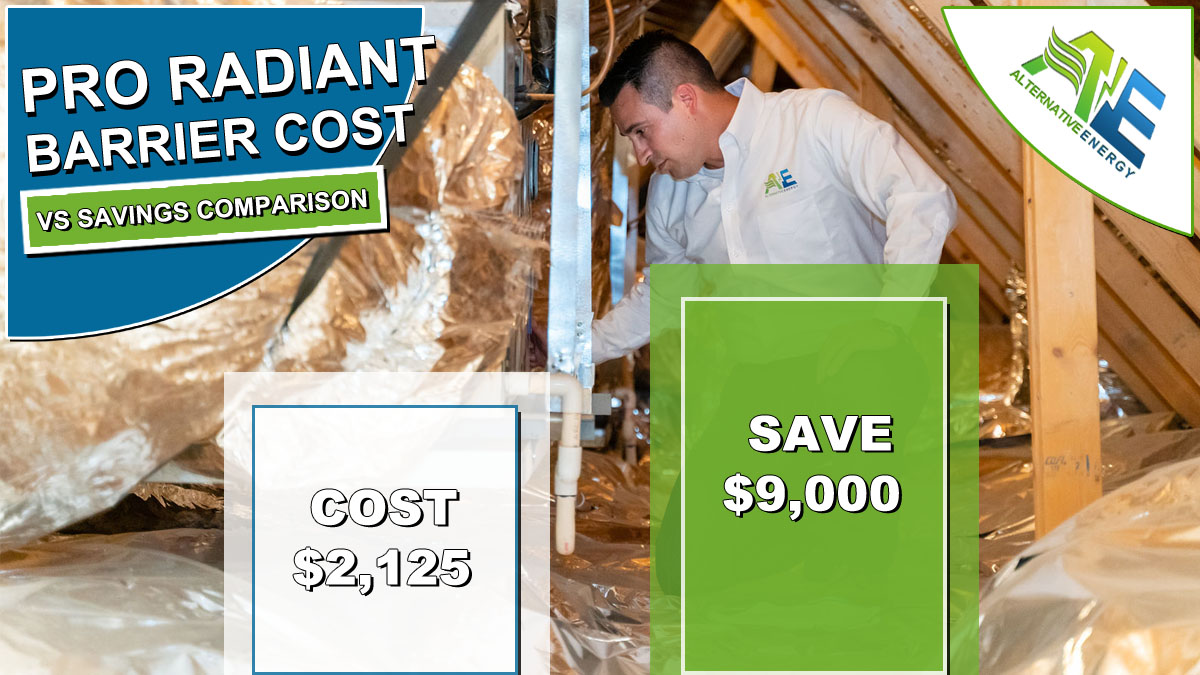 PRO Radiant Barrier Cost VS Savings