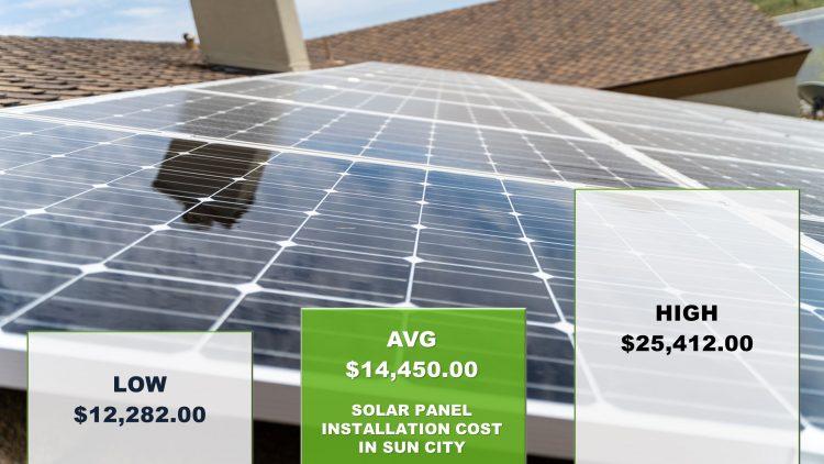 Solar Panels Sun City Cost