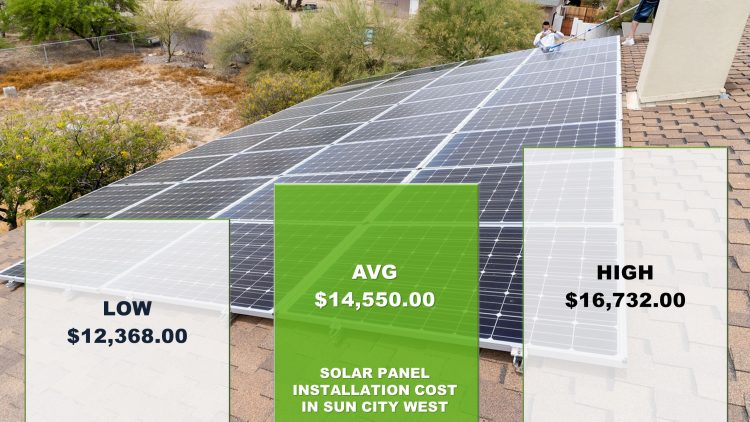 Solar Panels Sun City West Cost