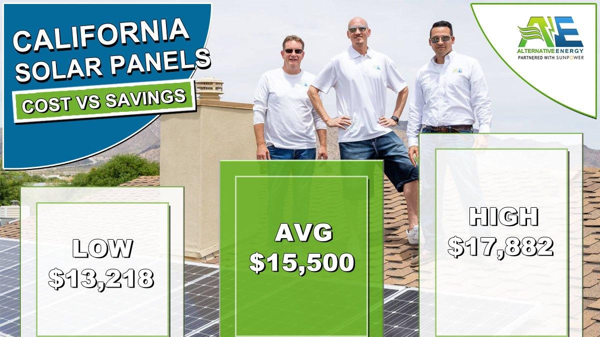California Solar Panels Cost