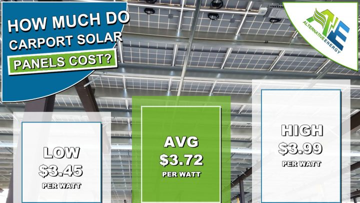How Much Do Carport Solar Panels Cost?