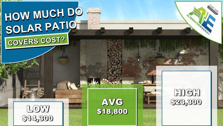 Solar Patio Cover Cost