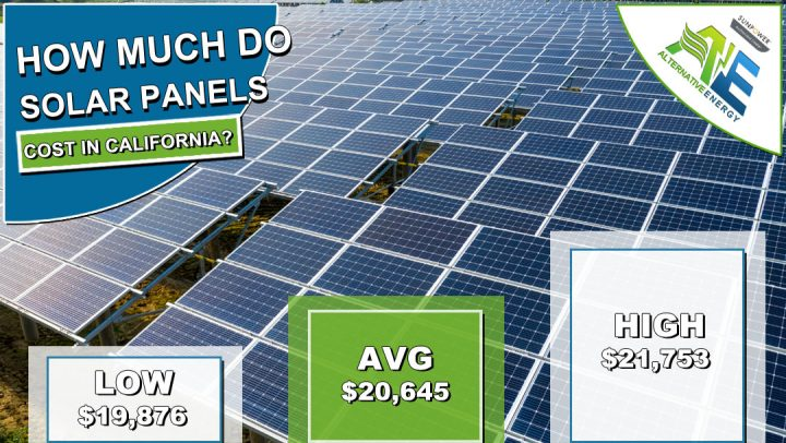 California Solar Panels Cost