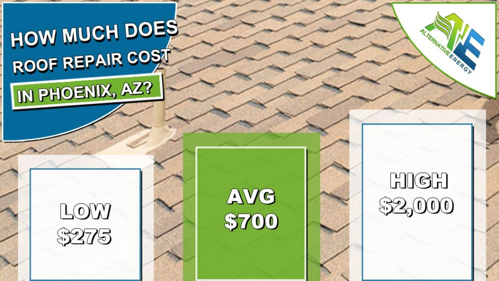 Roof Repair Cost Phoenix AZ