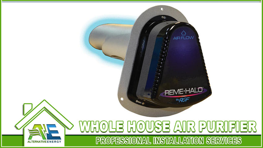 Whole House Air Purifier Installation