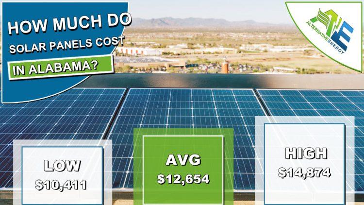 Alabama Solar Panels Cost