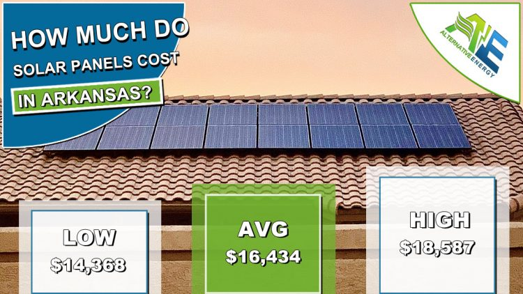 Arkansas Solar Panels Cost