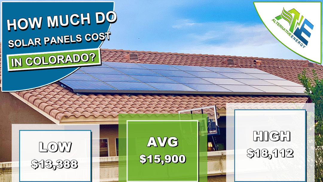 Colorado Solar Panels Cost