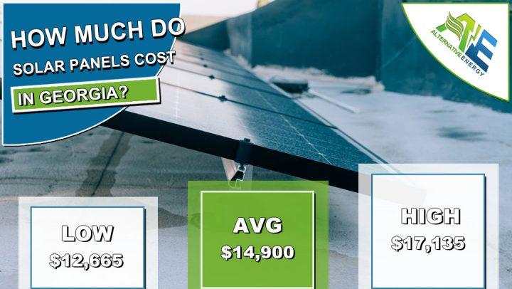 Georgia Solar Panels Cost