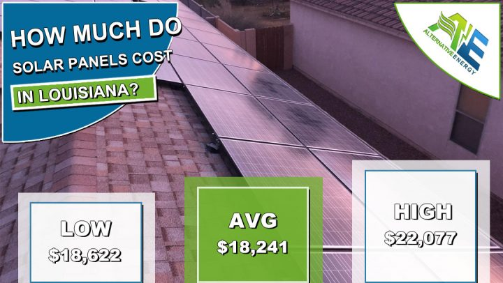 Louisiana Solar Panels Cost