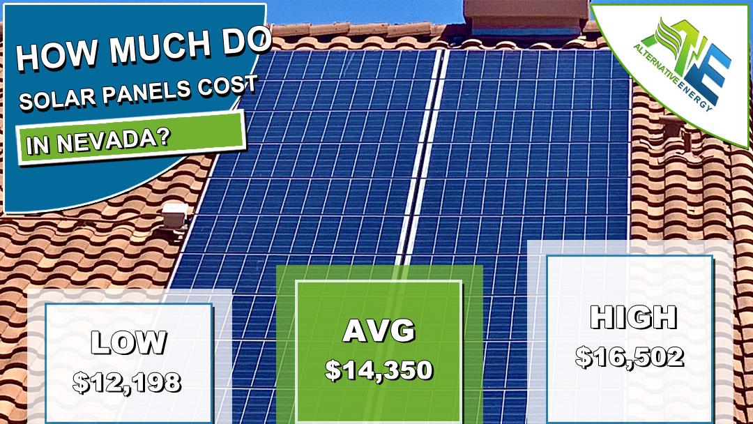 Solar Panels Cost Nevada