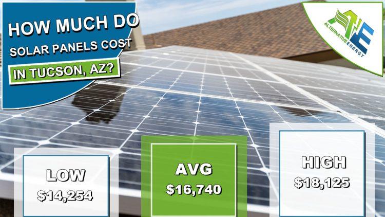 Tucson Solar Panels Cost