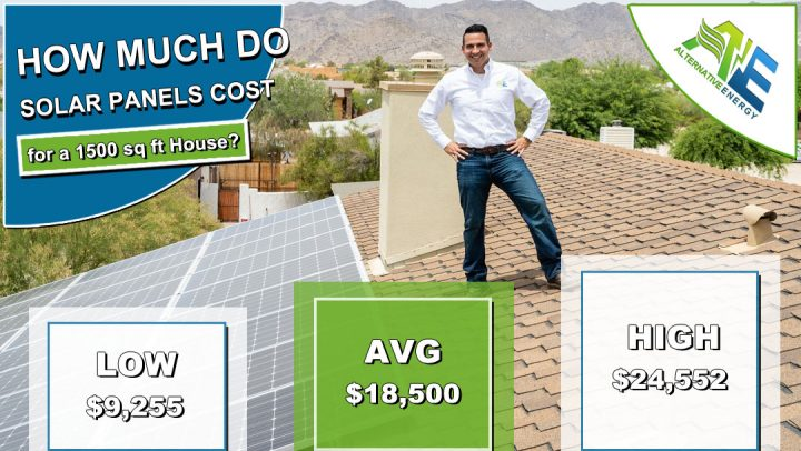 Solar Panels Cost for a 1500 Sqare Foot House